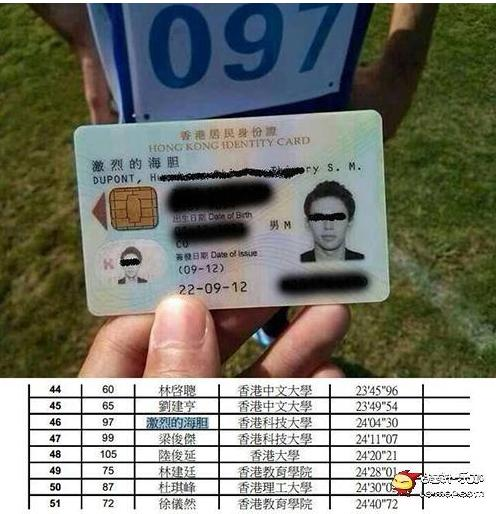 「激烈的海膽」香港身分證準了! - 蒐奇 - 自由時報電子報