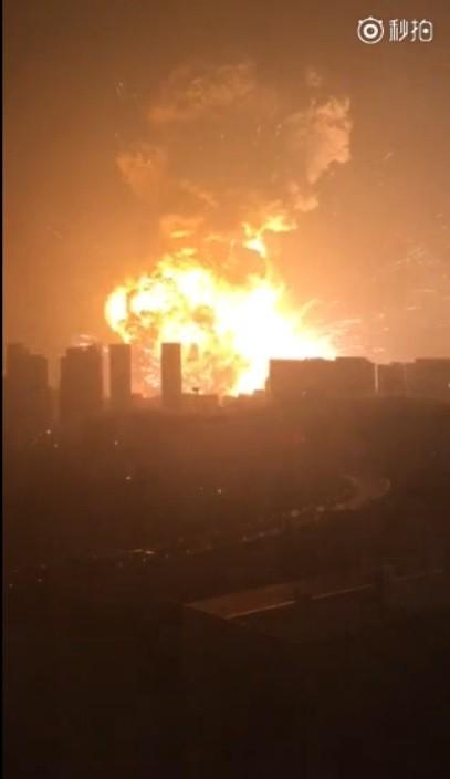 天津大爆炸 至少50死,700餘人傷 - 國際 - 自由時報電子報