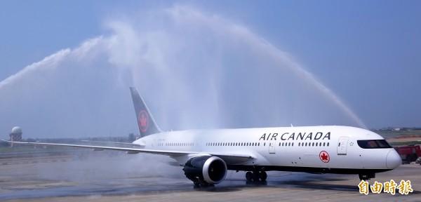 加拿大航空臺北-溫哥華直飛航線首航 - 生活 - 自由時報電子報