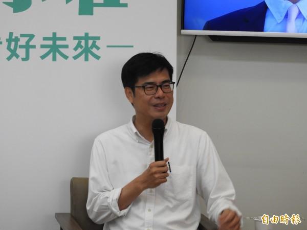 韓國瑜說他不是迷幻藥 陳其邁認為要對癥下藥 - 政治 - 自由時報電子報
