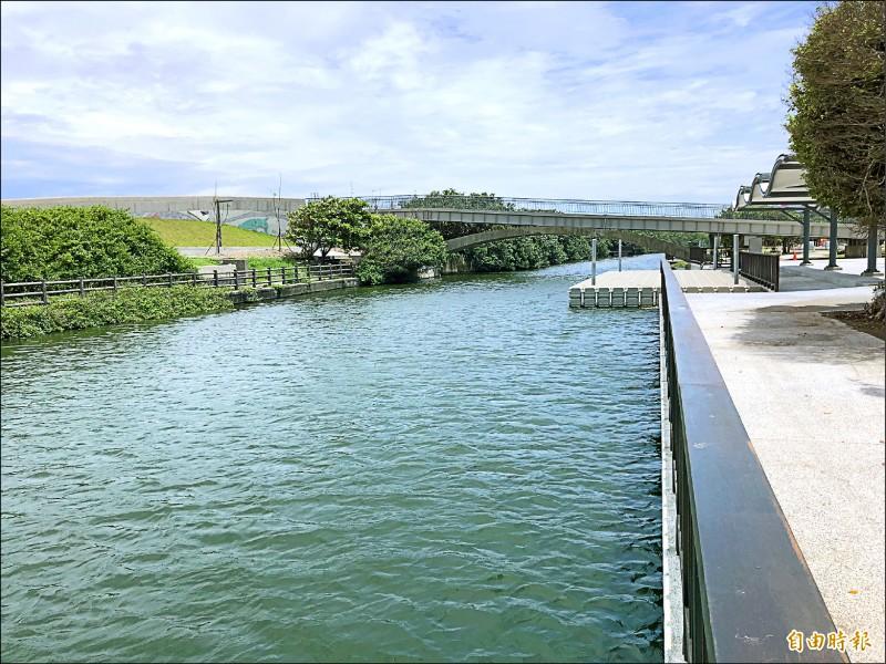 前瞻補助 港南運河完工展新貌 - 地方 - 自由時報電子報