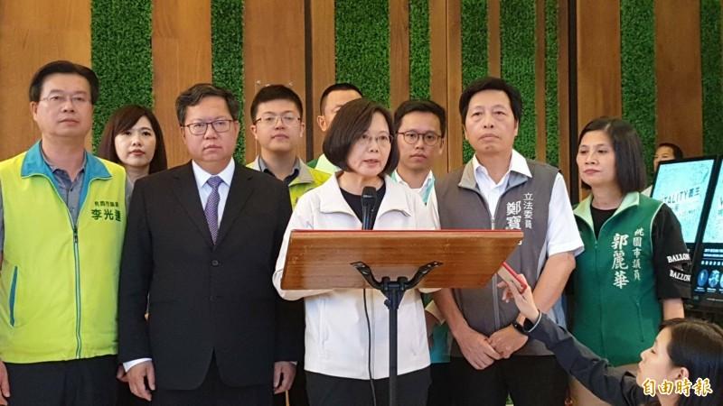 吉里巴斯斷交》蔡總統:堅定告訴中國 一國兩制不可能 - 政治 - 自由時報電子報