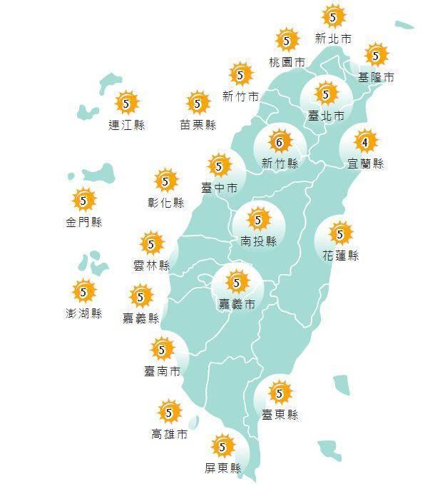好天氣持續!中部以北注意溫差 週五起東北風南下 - 生活 - 自由時報電子報