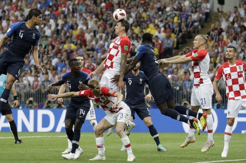 世足賽》法國4:2擊敗克羅埃西亞 勇奪隊史20年來第二冠 - 2018 世界盃足球賽 - 自由體育
