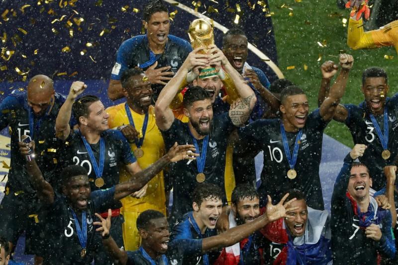 世足賽》法國奪隊史第二座大力神盃 奪冠經典時刻都在這(圖輯) - 自由體育