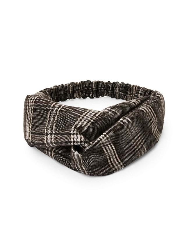 SheIn Plaid Twist Headband