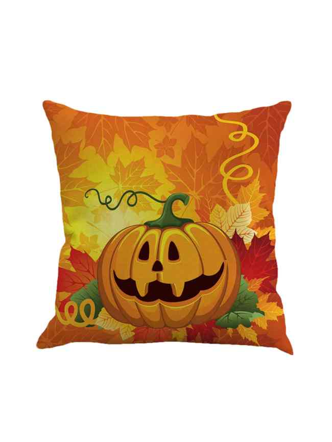 SheIn Pumpkin Print Pillowcase Cover