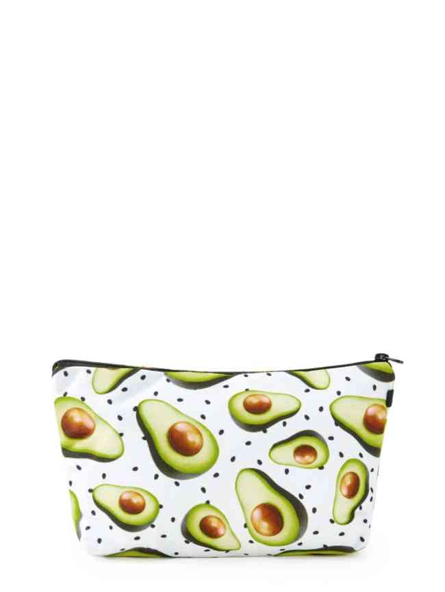 SheIn Avocado Print Accessory Case