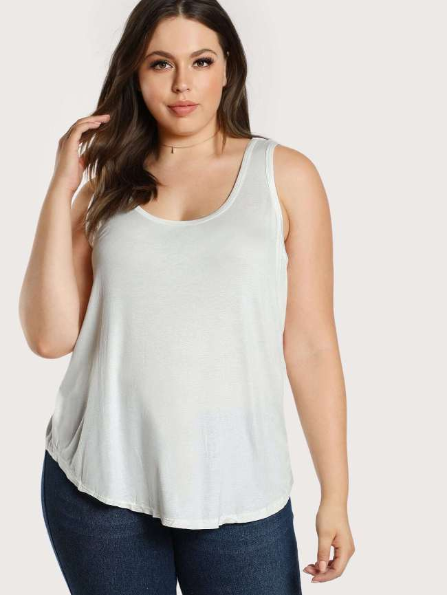 SheIn Solid Tank Top