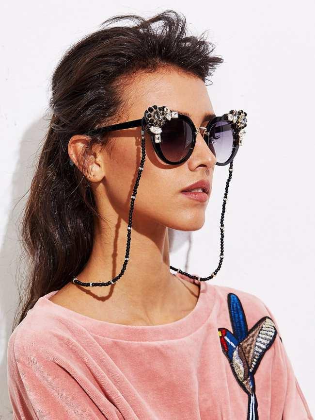 SheIn Beaded Glasses Chain