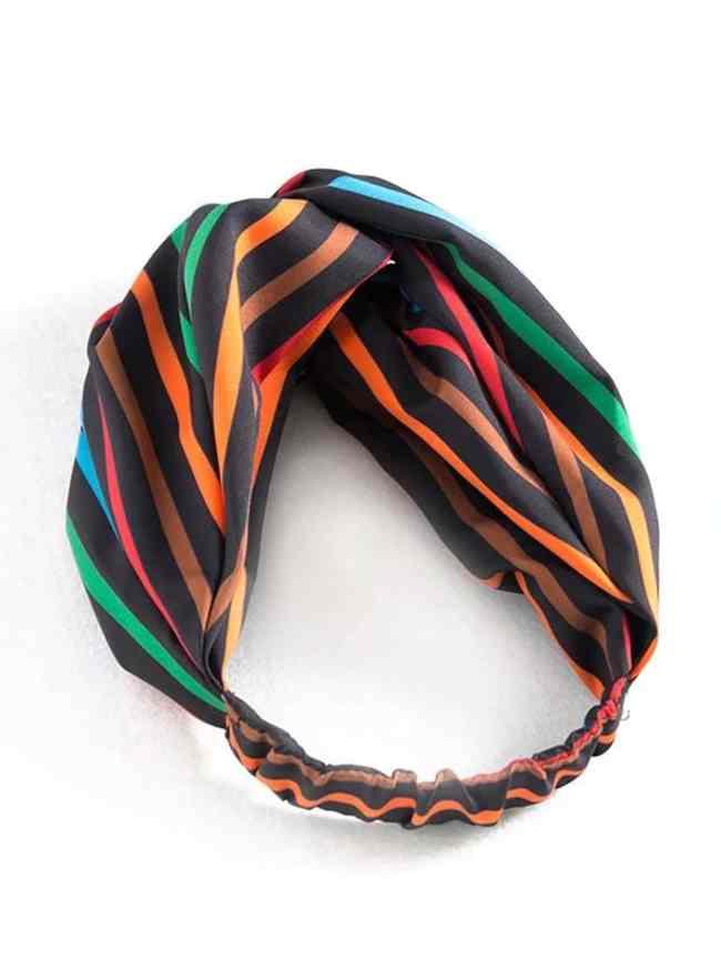 SheIn Twist Striped Headband