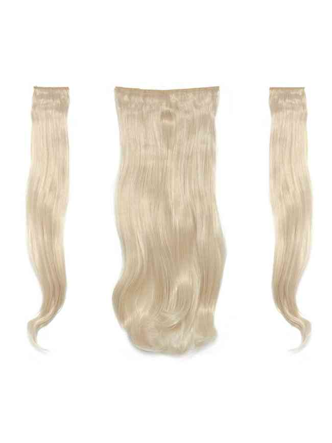 SheIn Light Blonde Clip In Soft Wave Hair Extension 3pcs