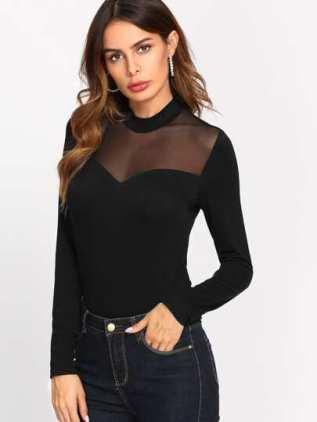 SheIn - Your Online Fashion Wardrobe Look : Jupe en cuir et béret rouge