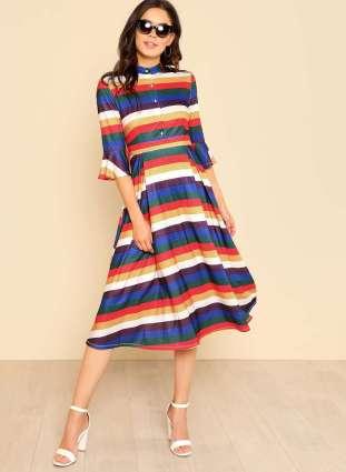 Shein Striped Dress