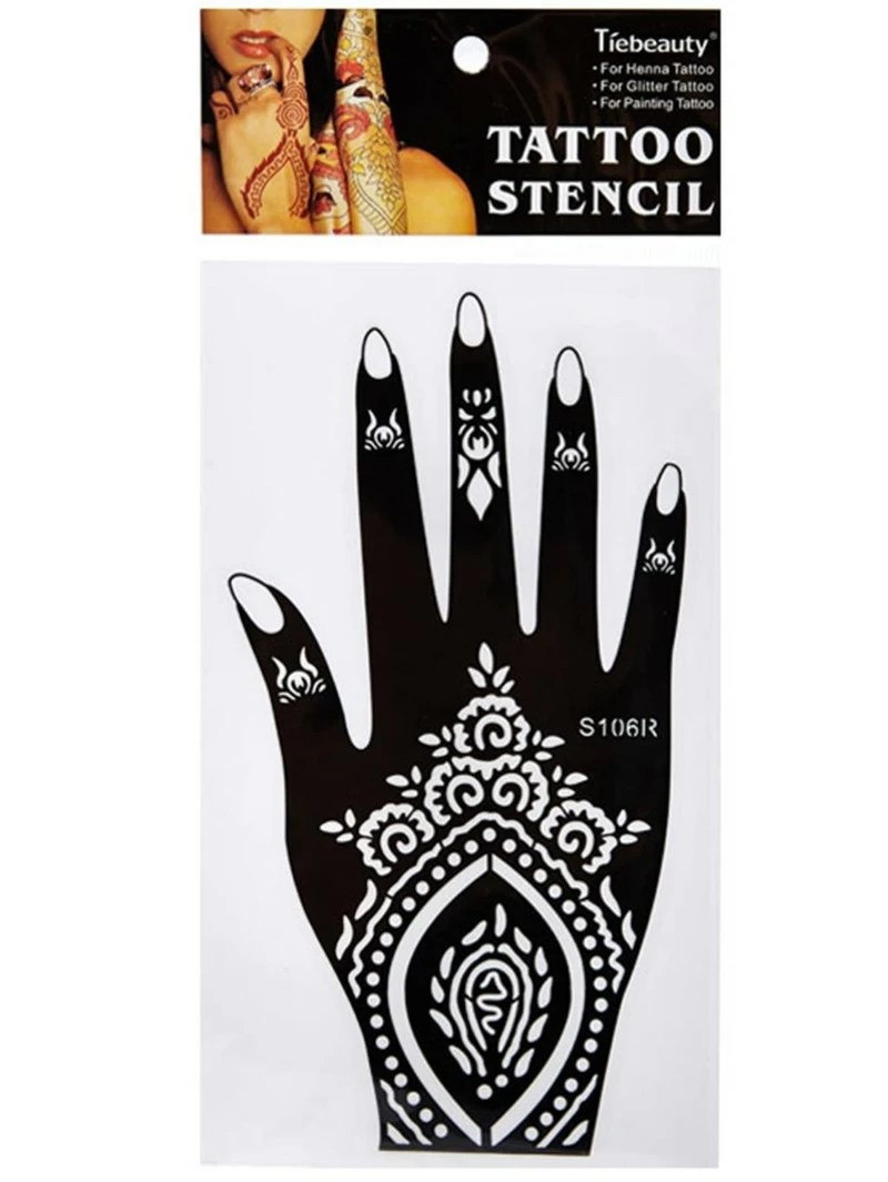 Plantilla De Tatuaje Con Henna Romwe