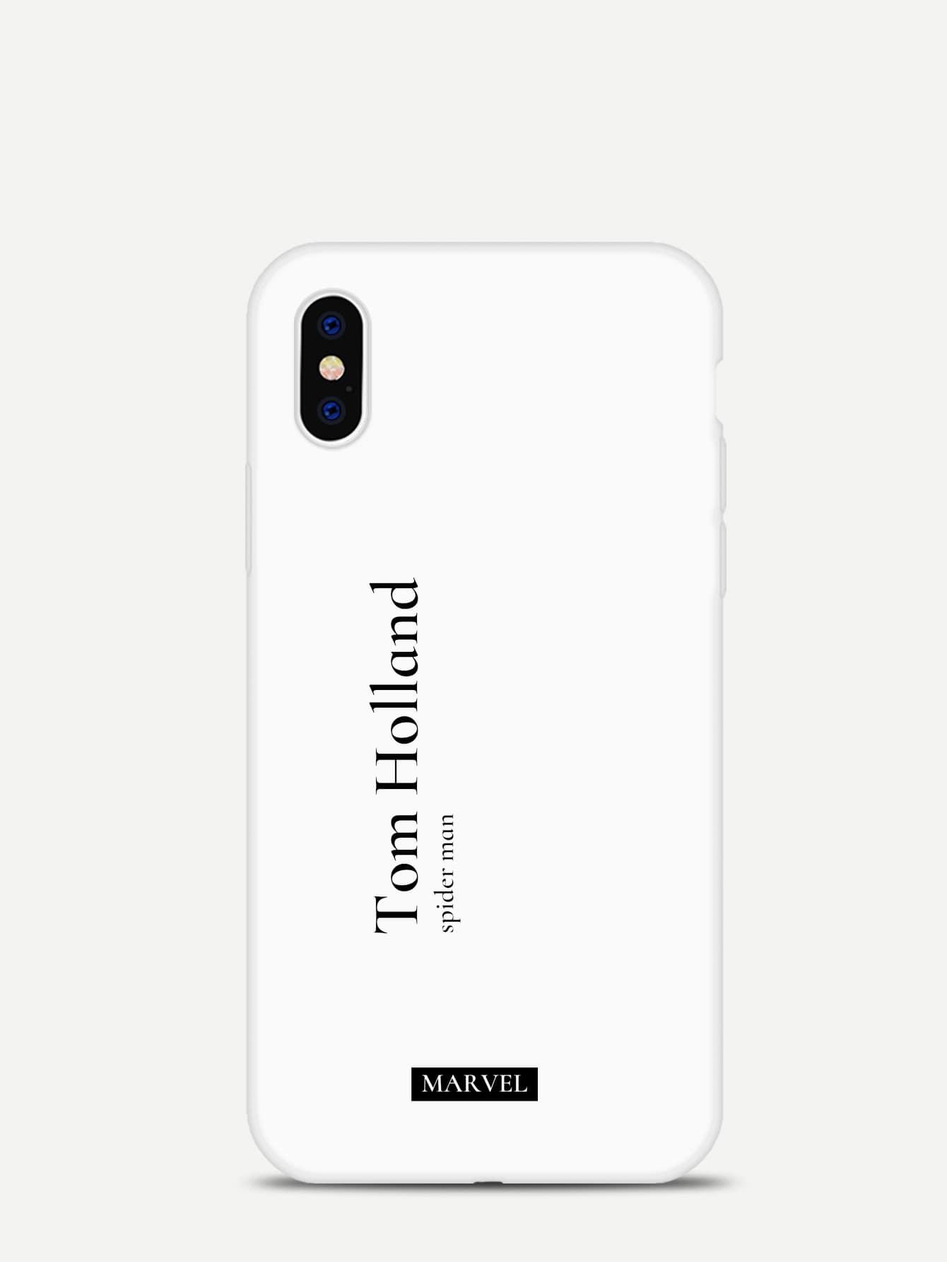 Slogan Pattern Iphone Case