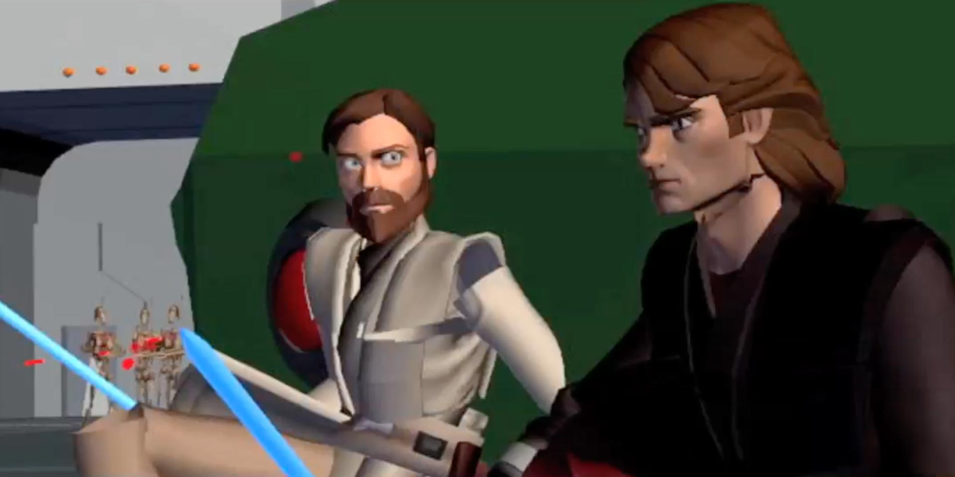 Obi-Wan and Anakin