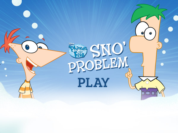Phineas And Ferb S No Problem Disney Games