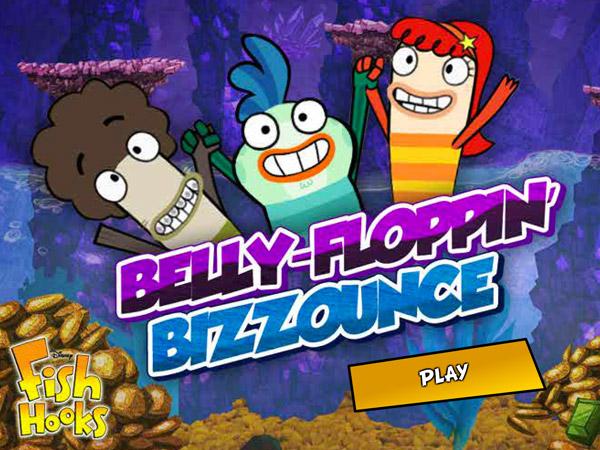 Freshwater Bounce Disney Games