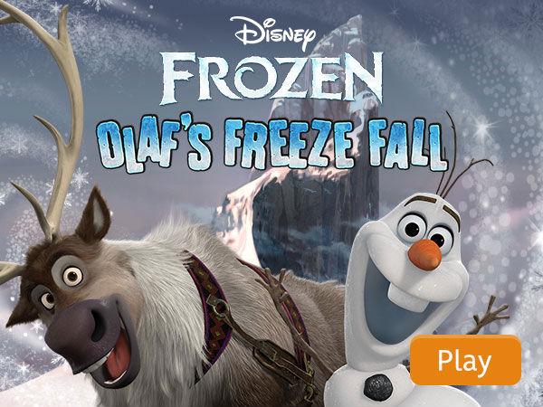 Frozen Olaf S Freeze Fall Disney Games