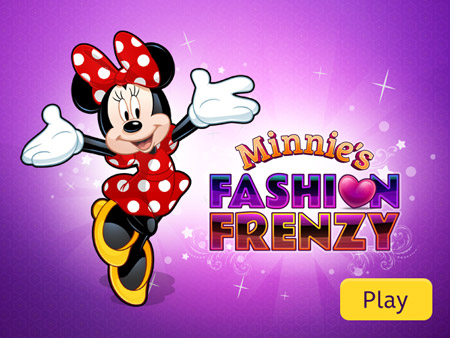 Minnie S Fashion Frenzy Disney Games