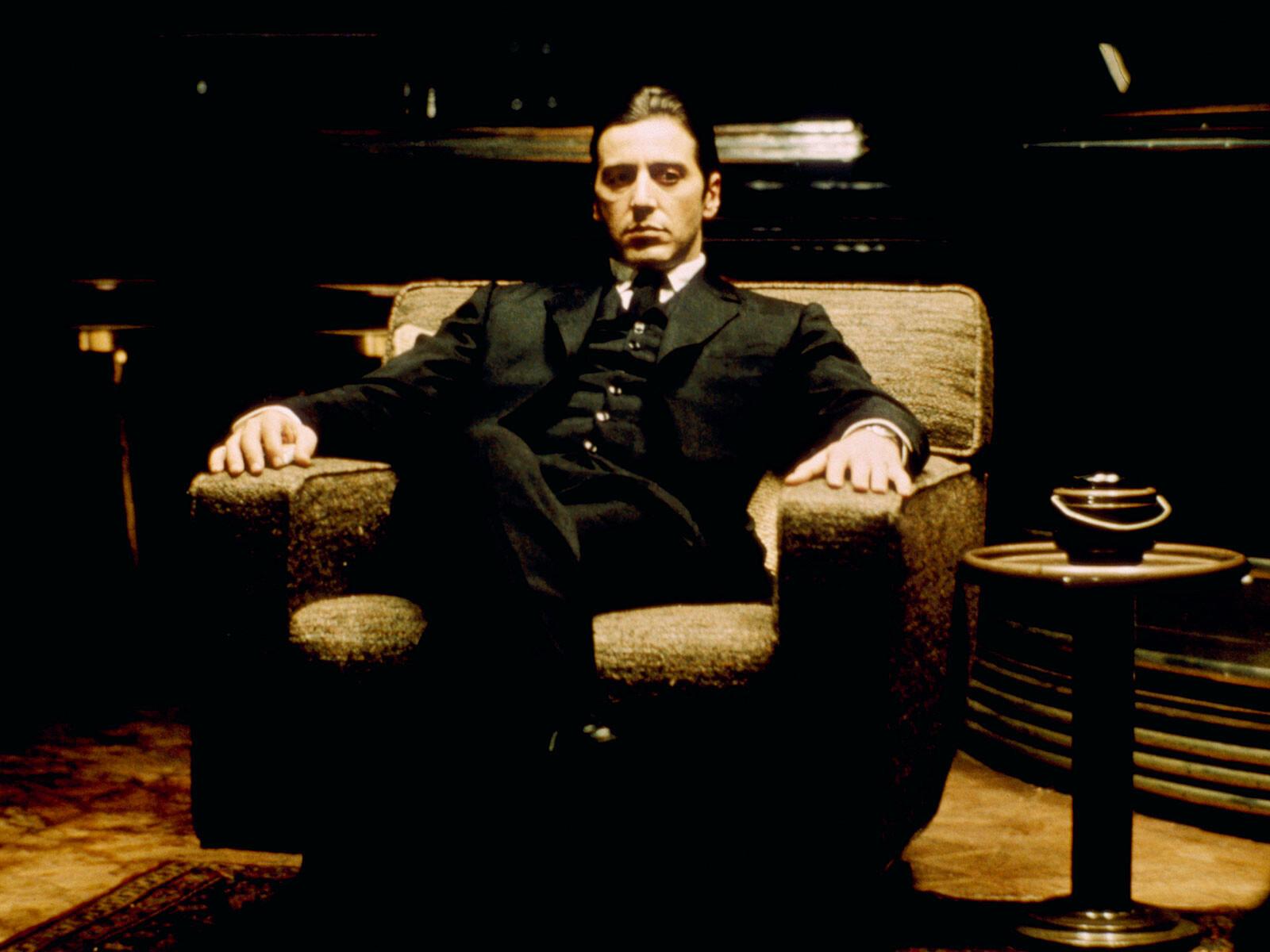 Michael Corleone Al Pacino  Francis Ford Coppola  Tableaux photographie art photographique