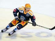 Dominic Lammer abandoned EV Zug in Lugano in this season (Picture: KEYSTONE / PPR / URS FLUELER)