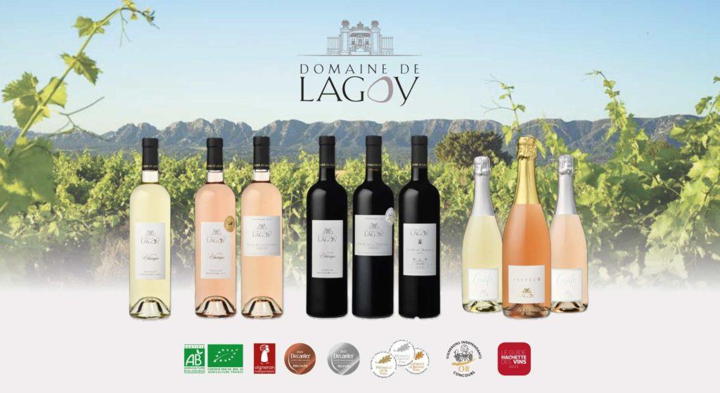 Domaine de Lagoy Vignes, Bouteilles et Alpilles