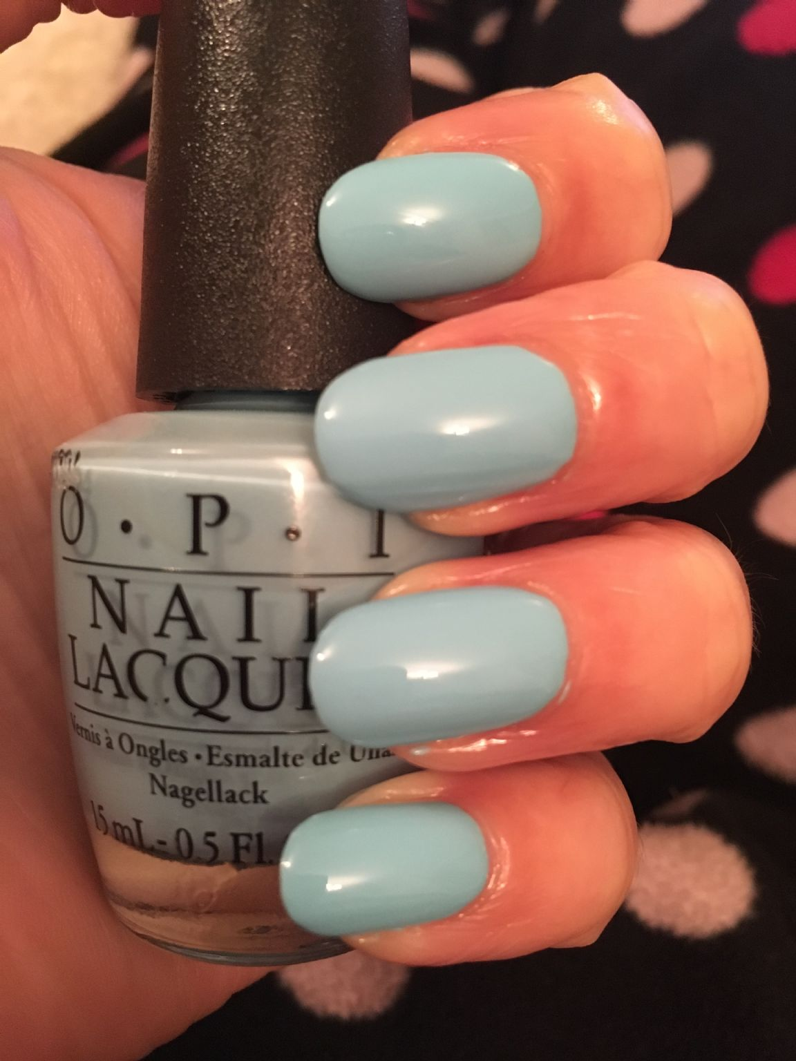 Tiffany Blue Nail Polish Opi : tiffany, polish, Believe, Manicures, Reviews,, Photos,, Ingredients, MakeupAlley