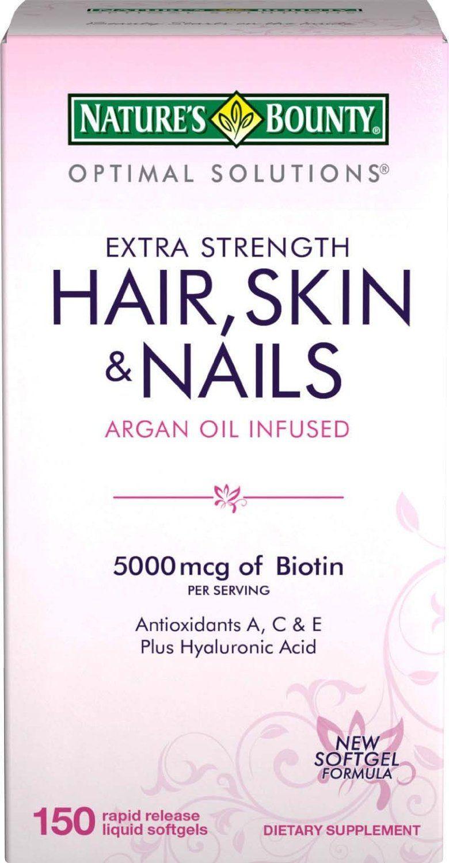 Nature's Bounty Hair Skin And Nails Costco : nature's, bounty, nails, costco, Nature's, Bounty, Extra, Strength, Vitamins, (5,000, Reviews,, Photos,, Ingredients, MakeupAlley
