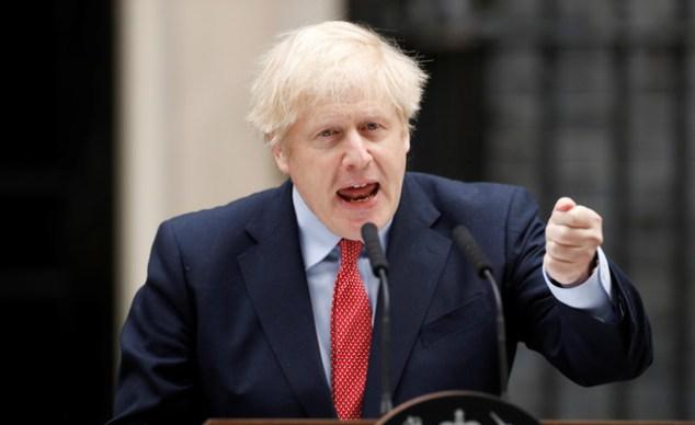 Le Premier ministre britannique Boris Johnson (Photo : Shay Franco, Reuters)