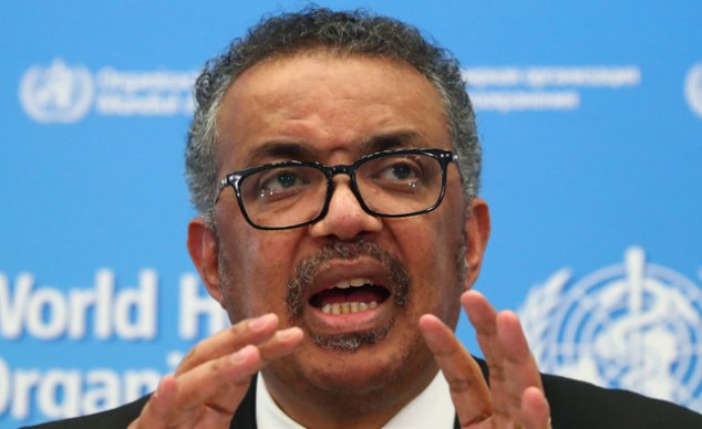 "US""World Health Organization Tedros Adnum Jabrios (Photo: Reuters)"