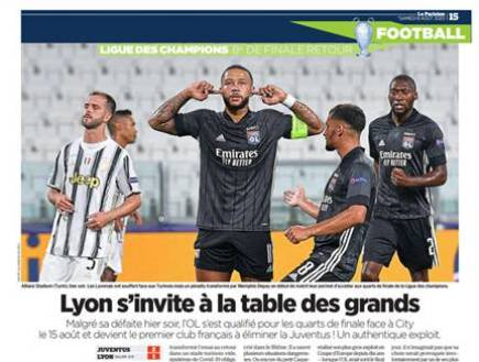 At the table of the greats (La Parisien)