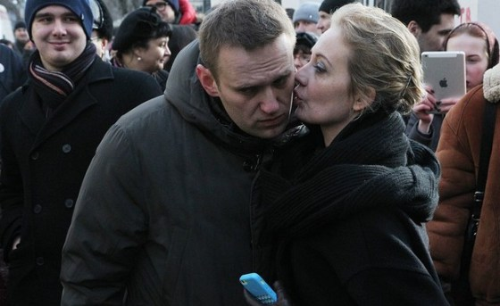 Alexei and Julia Navalny (Photo: Sasha Mordovets Getty Images)