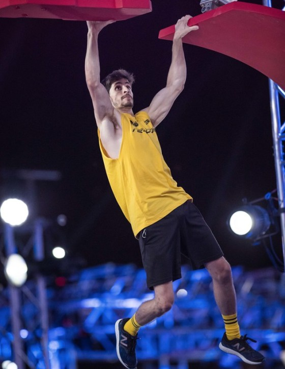 Alex Haznov in the semifinals (Photo: Oded Karni)