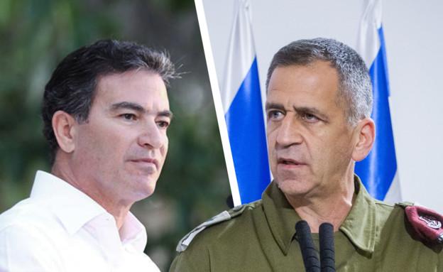 Yossi Cohen et Aviv Kochavi (Arrangement: Miriam Elster, Flash 90)