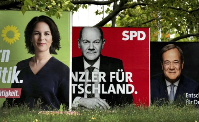Election campaign in Germany (Photo: AP)