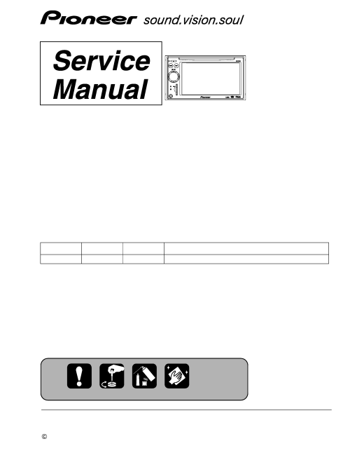 small resolution of pioneer avic f700bt xs uc service manual