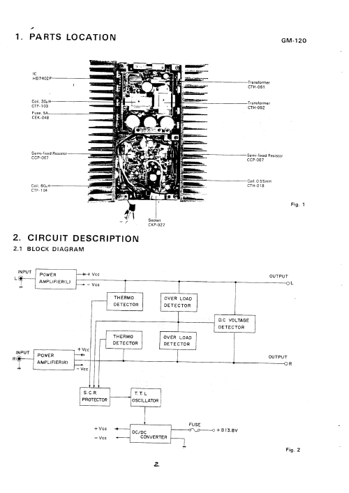 small resolution of pioneer gm 600 wiring diagram