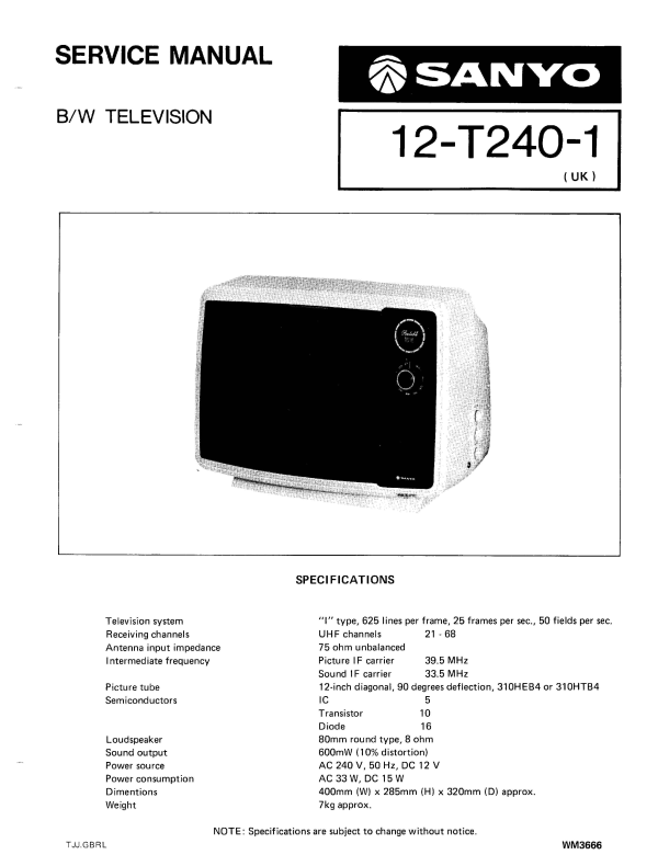 20+ Sanyo Tv Service Manuals Pictures and Ideas on Weric