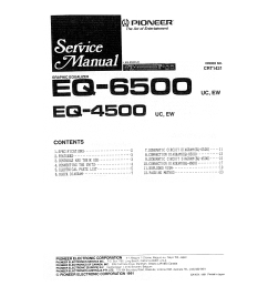 pioneer eq 6500 uc ew service manual immediate download pioneer deh p6500 pioneer eq 6500 service manual [ 5301 x 3744 Pixel ]