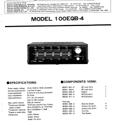 Clarion Wiring Harness Diagram Porsche 944 S2 100eqb 4 Service Manual Immediate Download