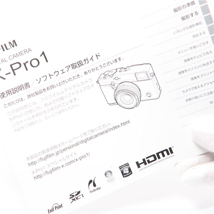 Fujifilm Fuji X-Pro1 16.3MP Mirrorless Digital Camera Body