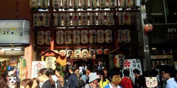 京都旅遊景點|錦天滿宮@錦市場:繁華街唯一的神社