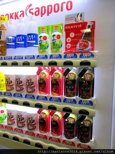 日本北陸自助|販賣機巡禮