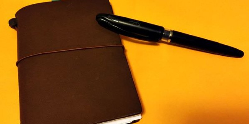 手帳開箱|我的 Traveler's Notebook PA