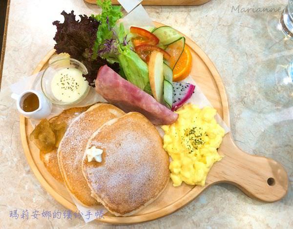 台中南屯美食 Cafe Hello 豐盛、美味的優質早午餐