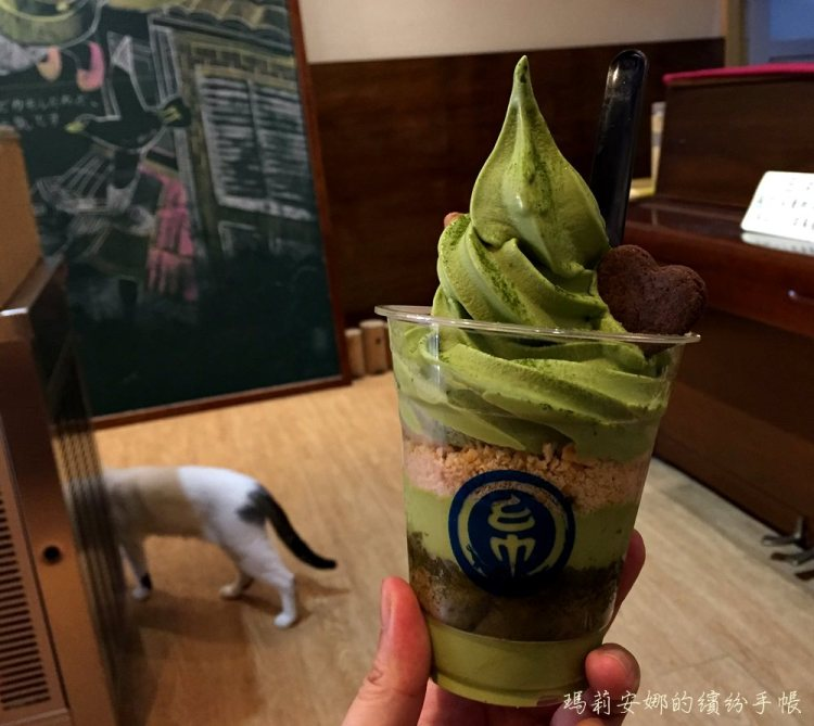 台中冰品 金帛霜淇淋-小山園抹茶提拉米蘇,不用出國就吃得到@一中商圈