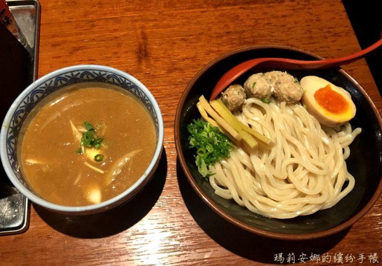 台中北區美食|三田製麵所,沾麵好味道 @中友百貨