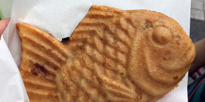 東京淺草美食|鳴門鯛燒本舖 天然鯛魚燒 地瓜好美味 新仲見世店